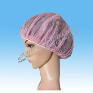 Non Woven Disposable Bouffant Cap for Hospital or Salon Use pictures & photos