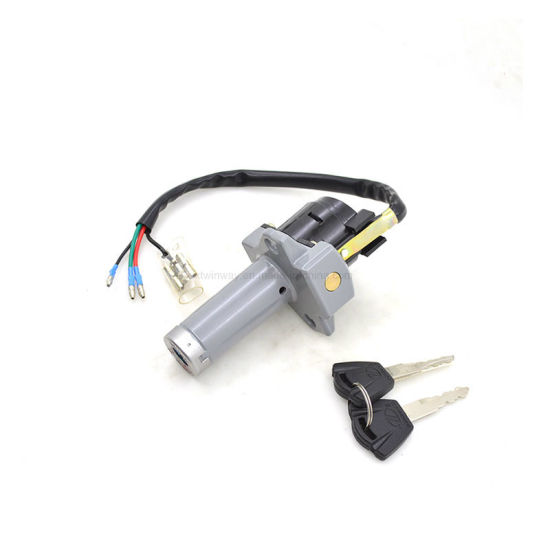 Ww-8752, Motorcycle 4 Wire Ignition Switch Lock Set for Honda Wy125 pictures & photos
