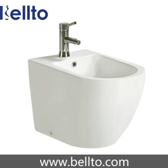 Floor Mounted WC Bidet toilets for sale (418B) pictures & photos