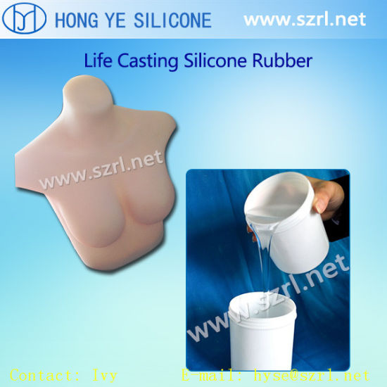 Fake Breast Mold Making Silicone Rubber with Low Price