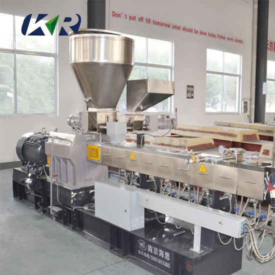 China Laboratory Plastic Pellets Granulating Manufacturing Extruder