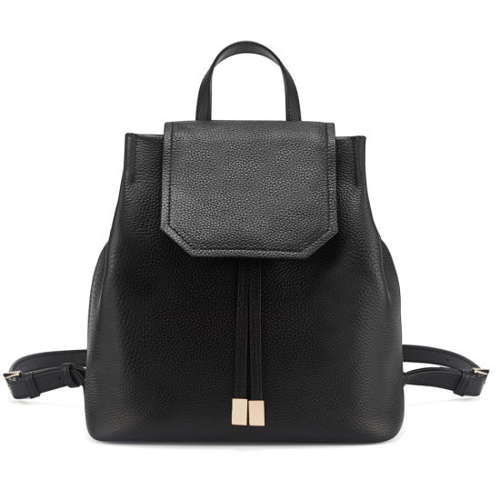 Lady Genuine Leather Backpack Fashion Cowhide Satchel