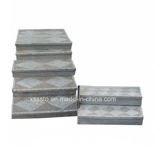 Indoor Polished Non-Slip Granite Stone Stairs