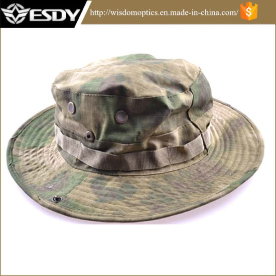 China Army Marine Bucket Jungle Cotton Boonie Hat Cap - China Army ... 77a28c19aad