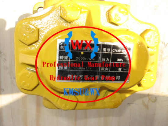 China OEM Komatsu Bulldozer D75s-2 Steering Clutch Oil Pump