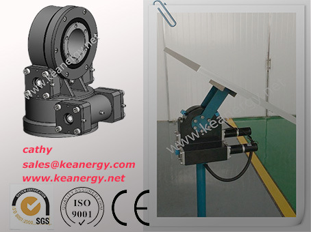 ISO9001/CE/SGS High Effective Slew Drive with High IP Rating IP66 pictures & photos