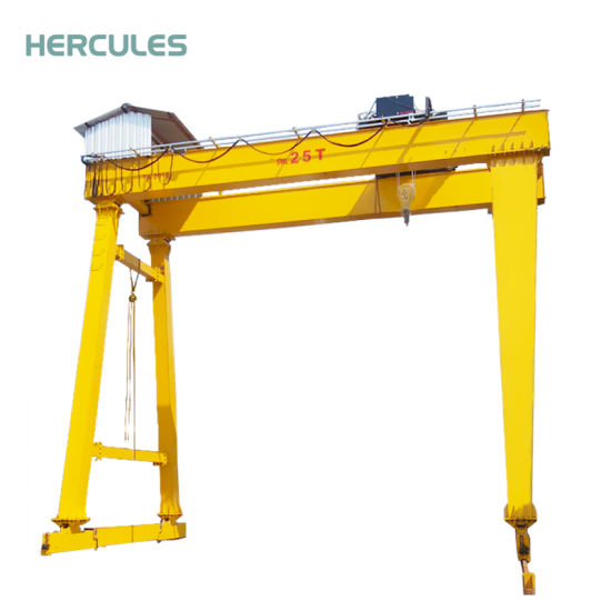 U Type 50 Ton Container Yard Double Beam Gantry Crane pictures & photos