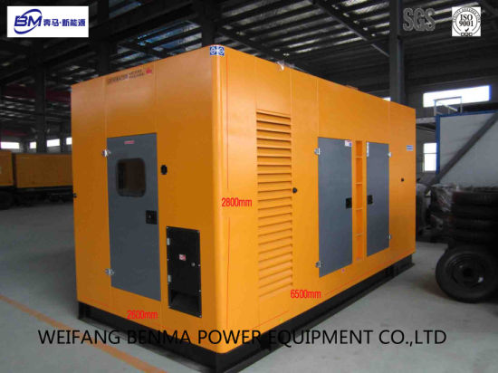 Diesel Generator Set with Low Noise Canopy Low Vibration pictures & photos