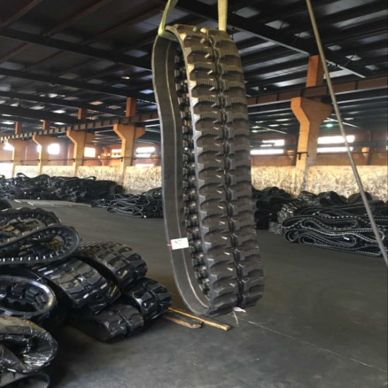 Puyi Machinery Dumper Rubber Track 320*100*40 for Hanix N250/300 pictures & photos