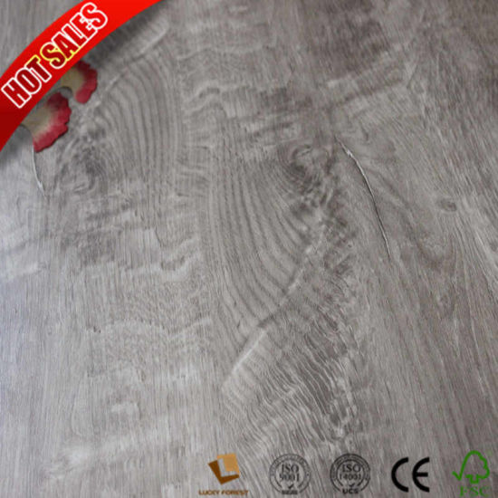 China Hand Scraped Dupont Real Touch Flooring Laminate Flooring
