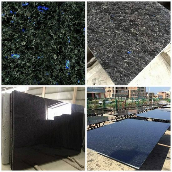 Wholesale Natural Stone Granite Tile Blue Night Granite Price pictures & photos