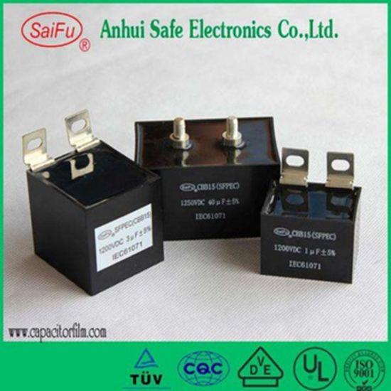 High Voltage DC Capacitor Cbb15 Cbb16 10UF 20UF 1400VDC