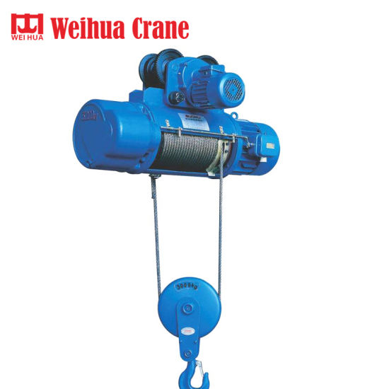 Weihua Double Speed Electric Wire Rope Hoist for Sale