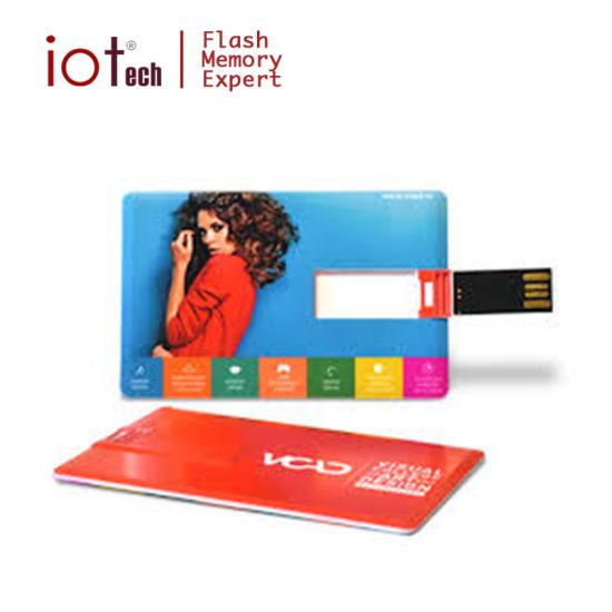 Free Sample OEM Logo Bank Card USB Flash Disk 8GB
