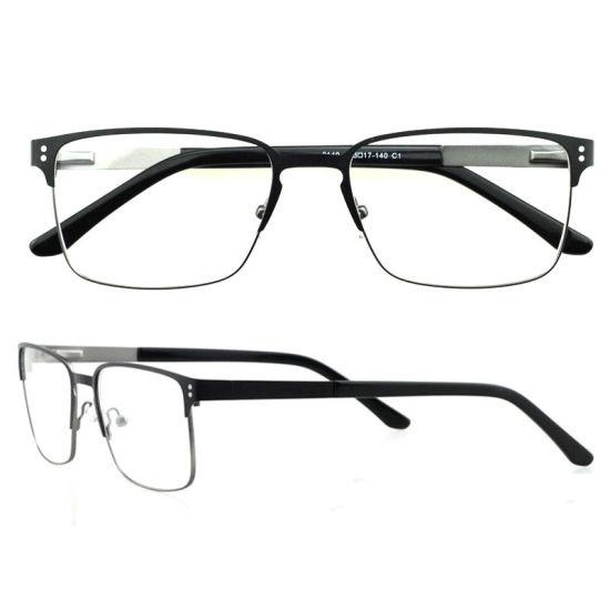 4557b12b79c2 New Arrival Metal Optical Eyeglasses Frames Rectangular Fram for Men  pictures   photos