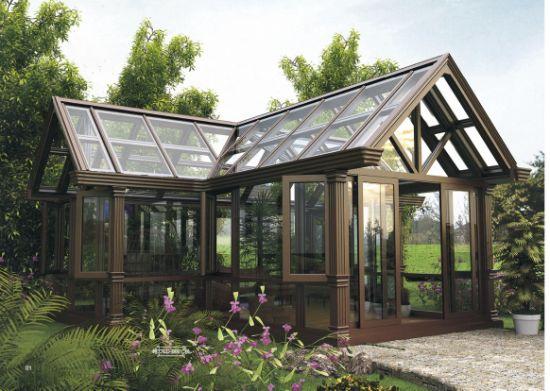Customizable Aluminium Glass House Sun Porch Sun House Sun Room for Outdoor Garden From BV ISO Certificate Factory