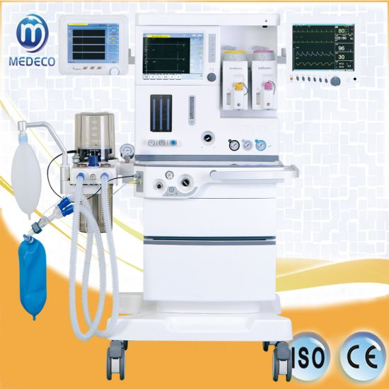 Anesthesia Equipment Me6100plus Anesthesia with Monitor pictures & photos