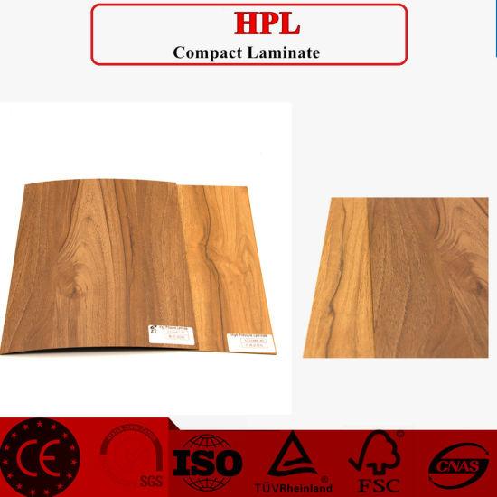 Wooden Grain HPL Used For Door Skin Cabinet Skin