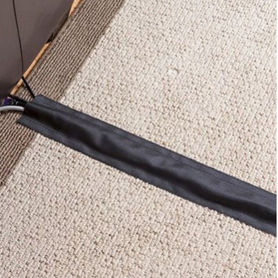 China 100mm Floor Cable Wrap Sleeve Wire Cord Hider Cover