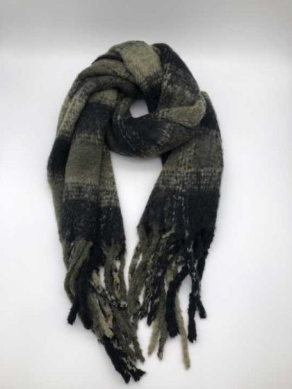 Wholesale Cheap with High Quality Brushed Woven Scarf Headwear Headwarm