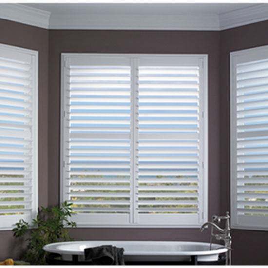 Solid Vinyl PVC Interior Plantation Shutters (WPPWS SERIES)