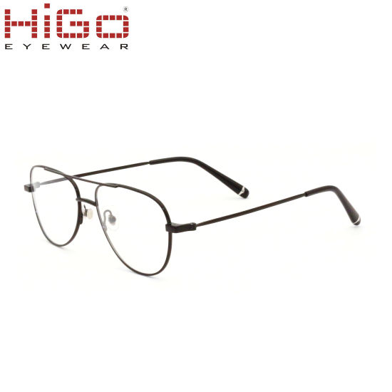 Bulk Product Metal Optical Frame Eyeglasses, Glasses with Metal Frame Material