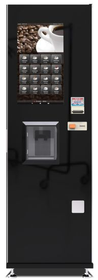 Floor Standing Coin Operated Coffee Vending Machine Manufacturer