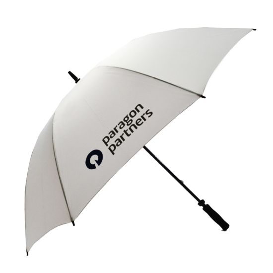 High Quality Promotional Fiberglass 30 Golf Umbrella (with Printing)