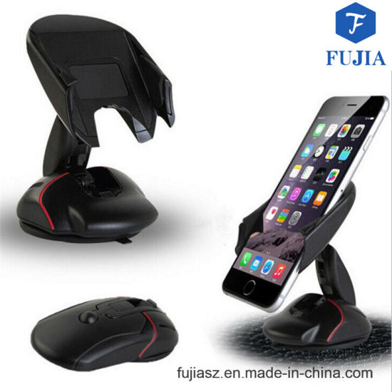 High-End Universal 360 Degree Rotating Suck Mouse Car Phone Holder for iPhone 7 7p 6s 6 Plus Samsung S6 S7 Mobile Phone Car Holder pictures & photos