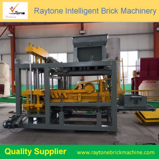 Qt8-15c Automatic Concrete Block Making Machine Concrete Paver Block Making Machine