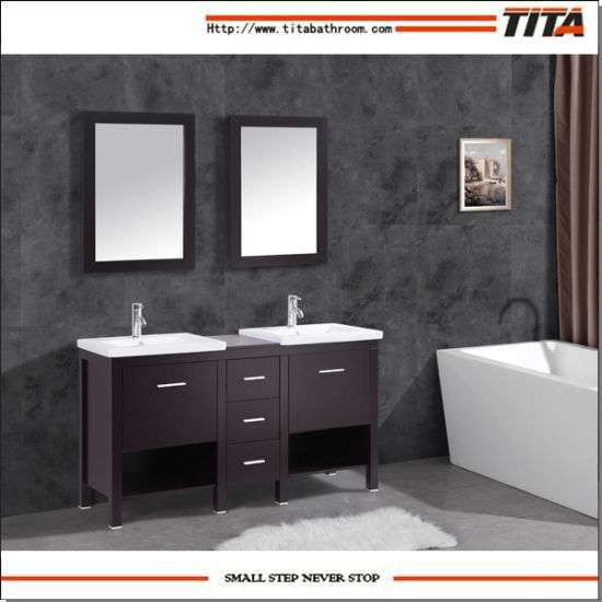 High Quality Ceramic Basin Bathroom Cabinet T9225A pictures & photos