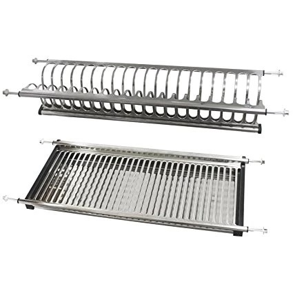 Wdj340 Kitchen 2 Layer Hanging Stainless Steel Dish Rack pictures & photos