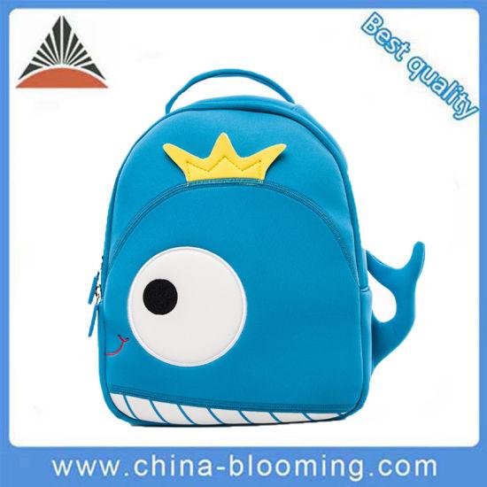 0c687be137 Lovely Cartoon Animal Baby Boys Blue Neoprene School Bag. Get Latest Price