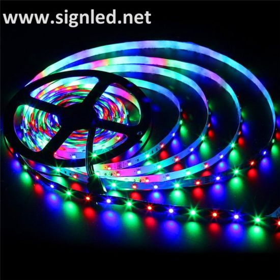 Indoor/Outdoor Full Color RGB SMD5050 Flexible LED Strip