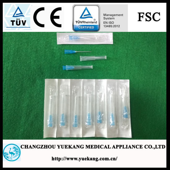 High Quality, 23G, Blister Pack, Disposable Injection Needle for Medical