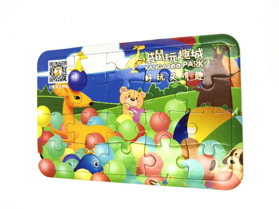 China Children Educational Kid Toys Jigsaw Puzzle For