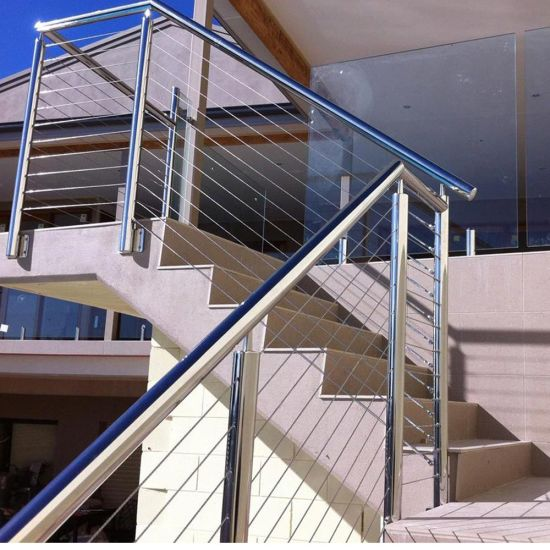 China Stainless Steel Cable Railings - Deck & Porch Railings ...