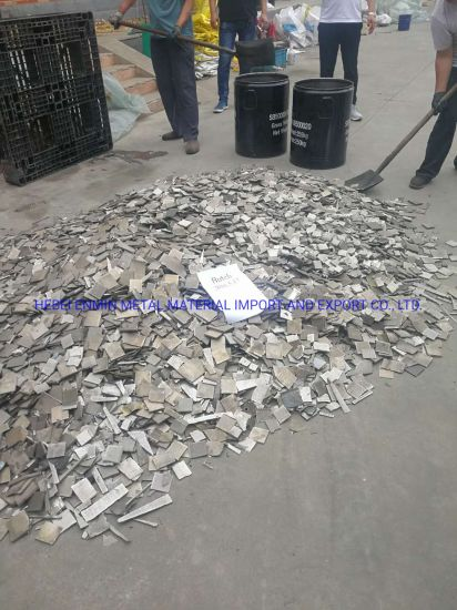 Factory Price High Purity 99.6% 99.9% Pure Nickel Sheet Scrap Metal