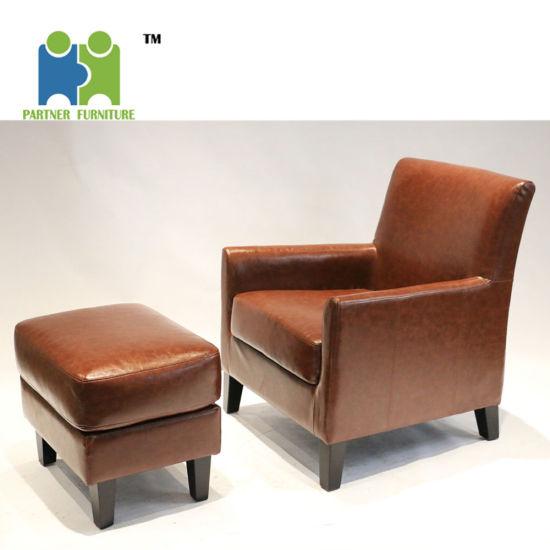 (WHALE) New Design Single Modern PU Sofa Set