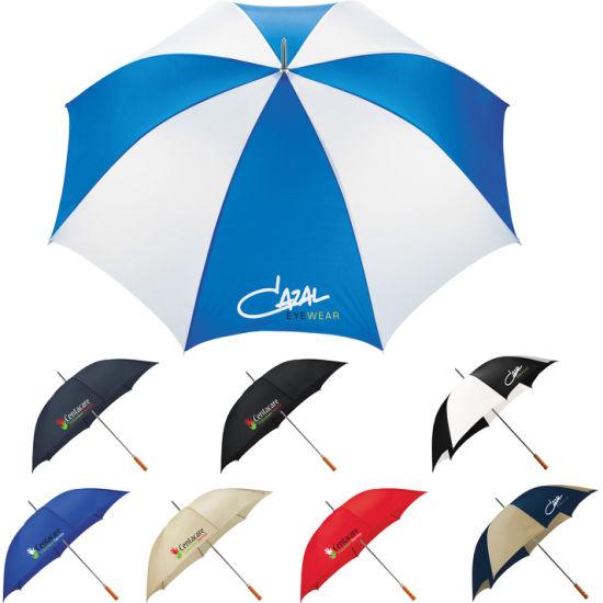 Promotional Palm Beach 60 Steel Golf Umbrella Straight Umbrella