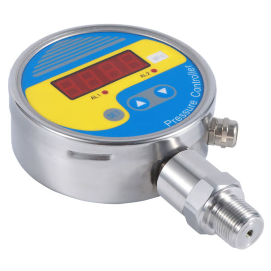 Liquid Steam Gas Electronic Piezoelectric Silicon Pressure Controller