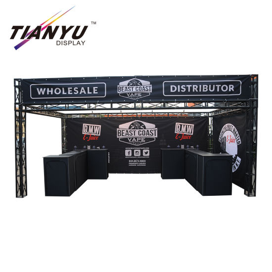 Aluminum Exhibition Backdrop Lighting Truss, Stage Roof Truss for Display pictures & photos