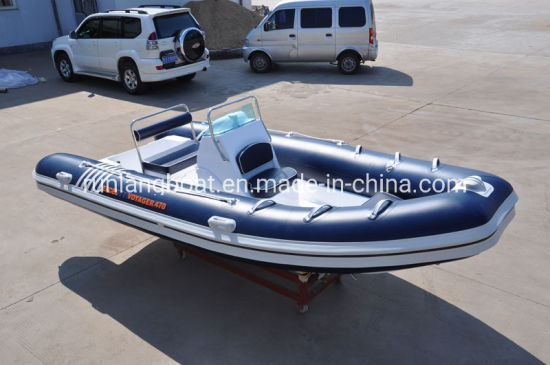Wave Star 4.7m Rigid Inflatable Boat Rib Boat Made in China for Sale