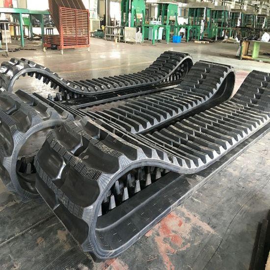 750X150X66 Rubber Track for Morooka Mst2300 Dumper Carrier Track
