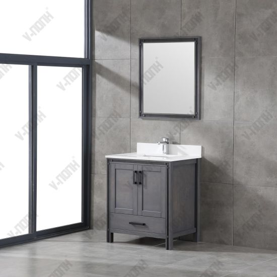 Gray 30inch Cabinet Bathroom Vanity