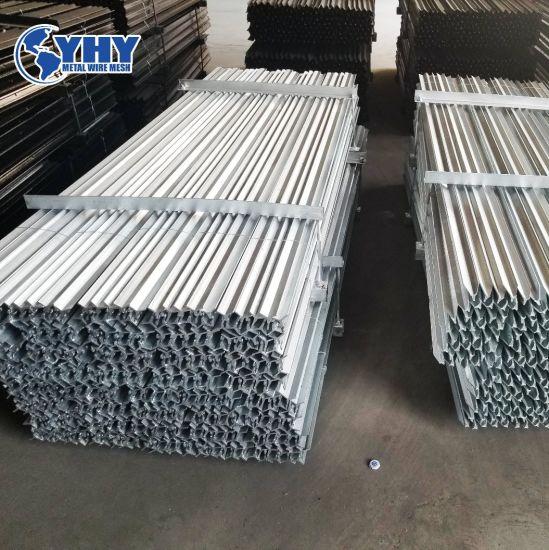 Anti-Rust Surface Heavy Duty Metal Farm Fence Y Post