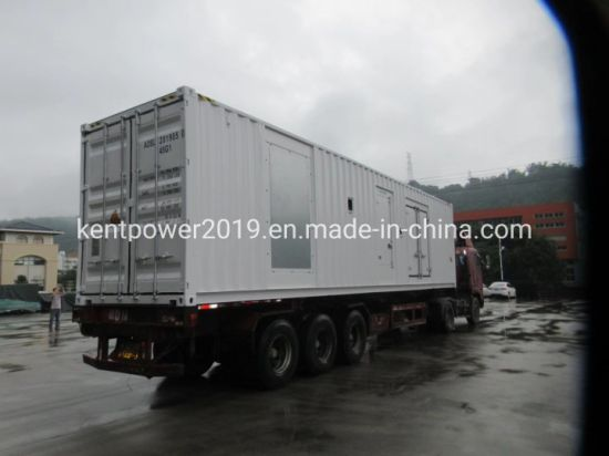 1500kVA/1200kw Cummins Engine Container Electirc Generator with ISO9001