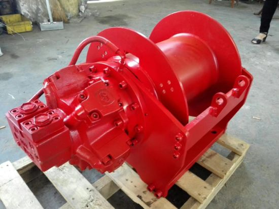 Boat Anchor Winch 80kn Hydraulic Combined Anchor Winch