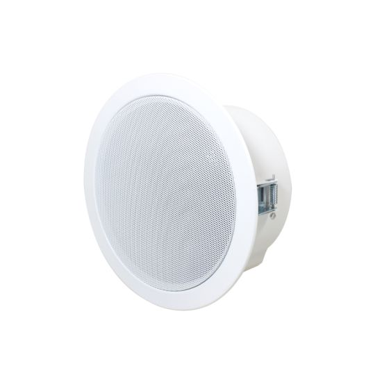 IP PA System 6inch 15W Active Inceiling Speaker with RJ45, Network Audio Decoding, Supports UDP/TCP Protocol, Poe Power Supply