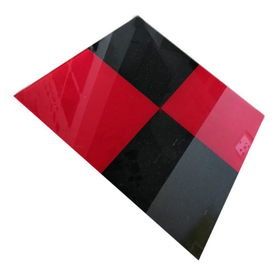 Wholesale Hot Sale Small Size 5mm Square Colored Tempered Glass for Coffee Table Top